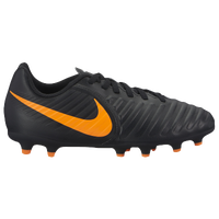 Nike Tiempo Legend 7 Club FG - Boys' Grade School - Black / Orange