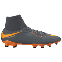 Nike Hypervenom Phantom 3 Academy DF FG - Men's - Grey / Orange