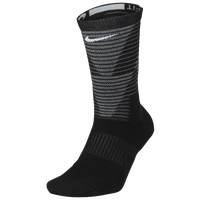 Nike Disrupter Elite Quick Crew Socks - Black / Grey