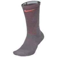 Nike Disrupter Elite Quick Crew Socks - Grey / Grey
