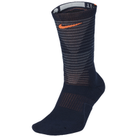 Nike Disrupter Elite Quick Crew Socks - Navy / Grey