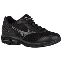 Mizuno Wave Rider 19 - Men's - Black / Silver