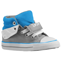 Converse PC Peelback - Boys' Toddler - Grey / Light BLue