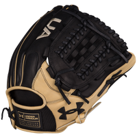 Under Armour Genuine Pro Dual Spine Web Fielding Glove - Black / Tan
