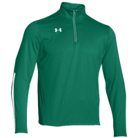 Under Armour Team Qualifier 1/4 Zip - Men's - Green / White
