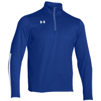Under Armour Team Qualifier 1/4 Zip - Men's - Blue / White