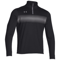 Under Armour Team Qualifier Novelty 1/4 Zip - Men's - Black / Grey