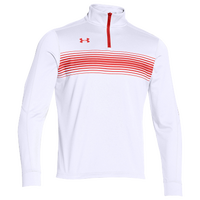 Under Armour Team Qualifier Novelty 1/4 Zip - Men's - White / Red