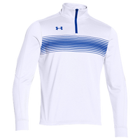 Under Armour Team Qualifier Novelty 1/4 Zip - Men's - White / Blue