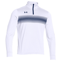Under Armour Team Qualifier Novelty 1/4 Zip - Men's - White / Navy