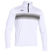 Under Armour Team Qualifier Novelty 1/4 Zip - Men's - White / Black