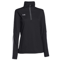 Under Armour Team Qualifier 1/4 Zip - Women's - Black / White