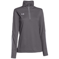 Under Armour Team Qualifier 1/4 Zip - Women's - Grey / White