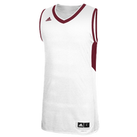 adidas Team Commander Jersey - Men's - White / Maroon