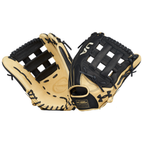 Under Armour Genuine Pro H-Web Fielding Glove - Black / Tan