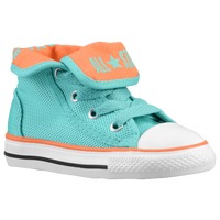 Converse All Star Super Hi - Boys' Toddler - Aqua / Orange