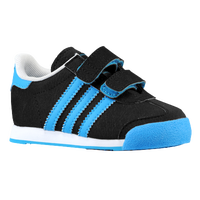 adidas Originals Samoa - Boys' Toddler - Black / Light Blue