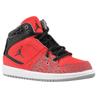 Jordan 1 Flight  - Boys' Preschool - Red / Black
