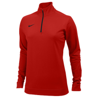 Nike Team Dri-FIT 1/2 Zip - Women's - Red / Red