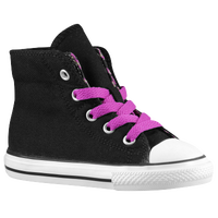 Converse CT Two Fold Hi - Girls' Toddler - Black / White