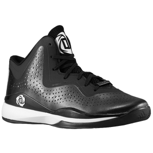 adidas D Rose 773 III - Men's - Derrick Rose - Black/White/Black