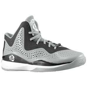 adidas D Rose 773 III - Men's - Aluminum/Black/White