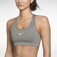 Nike Pro Core Bra - Women's - Grey / Grey