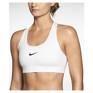 Nike Pro Core Bra - Women's - White/Black