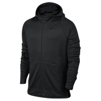 Nike Hyperelite F/Z Hoodie - Men's - All Black / Black