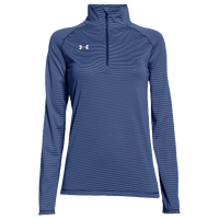 Under Armour Team Tech Stripe 1/4 Zip - Women's - Navy / Navy