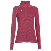 Under Armour Team Tech Stripe 1/4 Zip - Women's - Pink / Pink