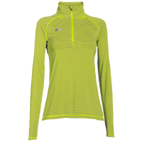 Under Armour Team Tech Stripe 1/4 Zip - Women's - Light Green / Light Green