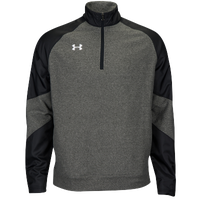 Under Armour Team Performance Fleece Pullover - Men's - Black / Grey