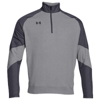 Under Armour Team Performance Fleece Pullover - Men's - Grey / Grey