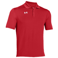 Under Armour Team Armour Polo - Men's - Red / Red