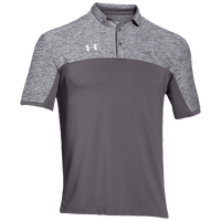 Under Armour Team Podium Polo - Men's - Grey / Grey