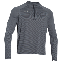 Under Armour Team Tech Stripe 1/4 Zip - Men's - Black / Grey