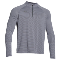 Under Armour Team Tech Stripe 1/4 Zip - Men's - Grey / Grey