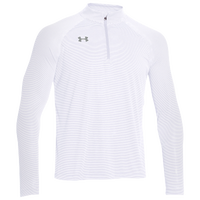 Under Armour Team Tech Stripe 1/4 Zip - Men's - All White / White