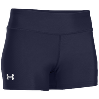 "Under Armour Team on the Court Short 3"" - Women's - Navy / Navy"