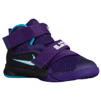 Nike Soldier IX - Boys' Toddler - Purple / White