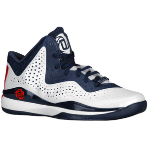 adidas D Rose 773 III - Men's - White/Scarlet/Navy