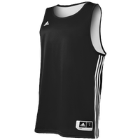 adidas Practice Reversible Jersey - Men's - Black / White