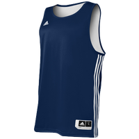 adidas Practice Reversible Jersey - Men's - Navy / White