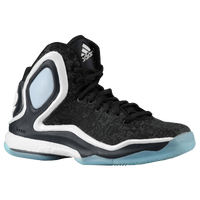 adidas D Rose 5 Boost - Boys' Grade School - Derrick Rose - Grey / Black