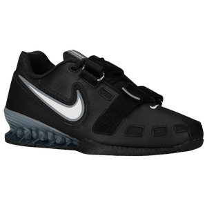 Nike Romaleos II Power Lifting - Men's - Black/White/Cool Grey