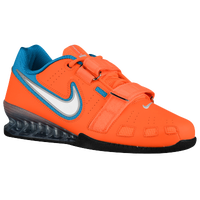 Nike Romaleos II Power Lifting - Men's - Orange / White