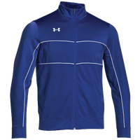 Under Armour Team Rival Knit Warm-Up Jacket - Men's - Blue / White