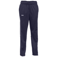 Under Armour Team Rival Knit Warm-Up Pants - Women's - Navy / White