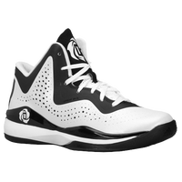 adidas D Rose 773 III - Boys' Grade School - White / Black
